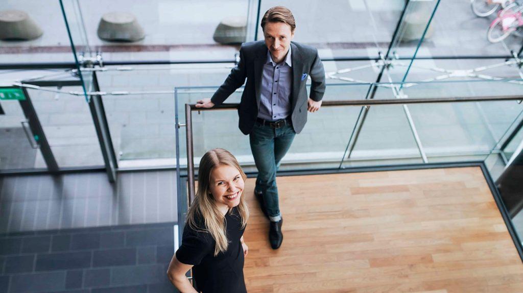 Suvituulia Taponen and Tuomo Vuorinen